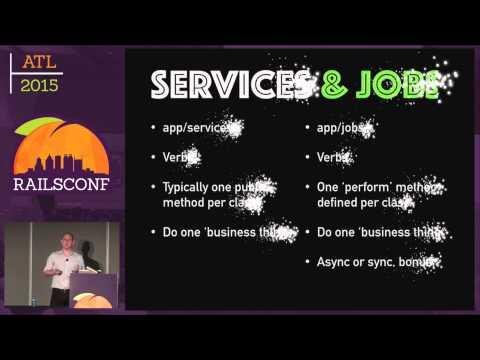 RailsConf 2015 - ActiveJob: A Service Oriented Architecture