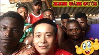 Cuộc Sống ở Châu Phi - Vlog #11 : Thượng đế cũng phải cười ( Team châu phi )
