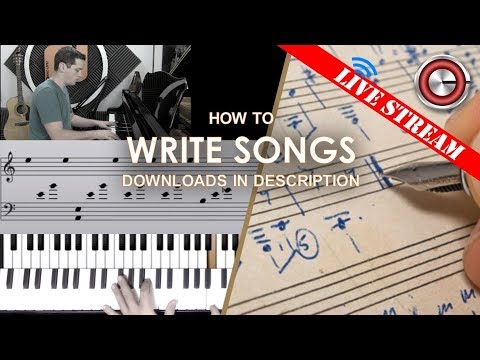 Song Writing (Melody and Lyrics)