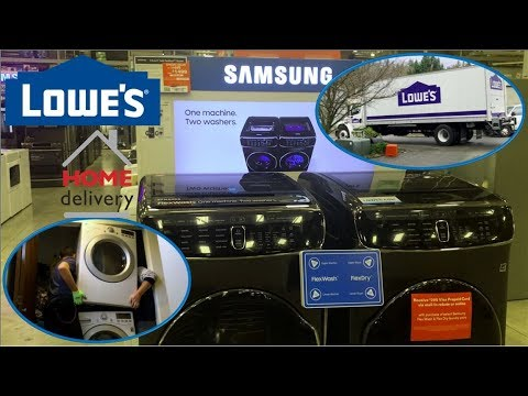 Lowes Washer & Dryer Home Delivery & Installation