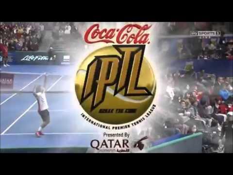 Fenomenale smash Treat Huey tijdens IPTL