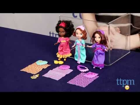 3f9abd84e7 Sofia the First Royal Sleepover Dolls from Mattel - YouTube