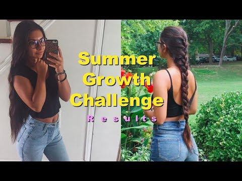 Growth Challenge Results+Scalp Exfoliation DIY