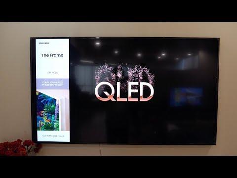 """Samsung The Frame 55"""" 4K QLED TV Overview"""