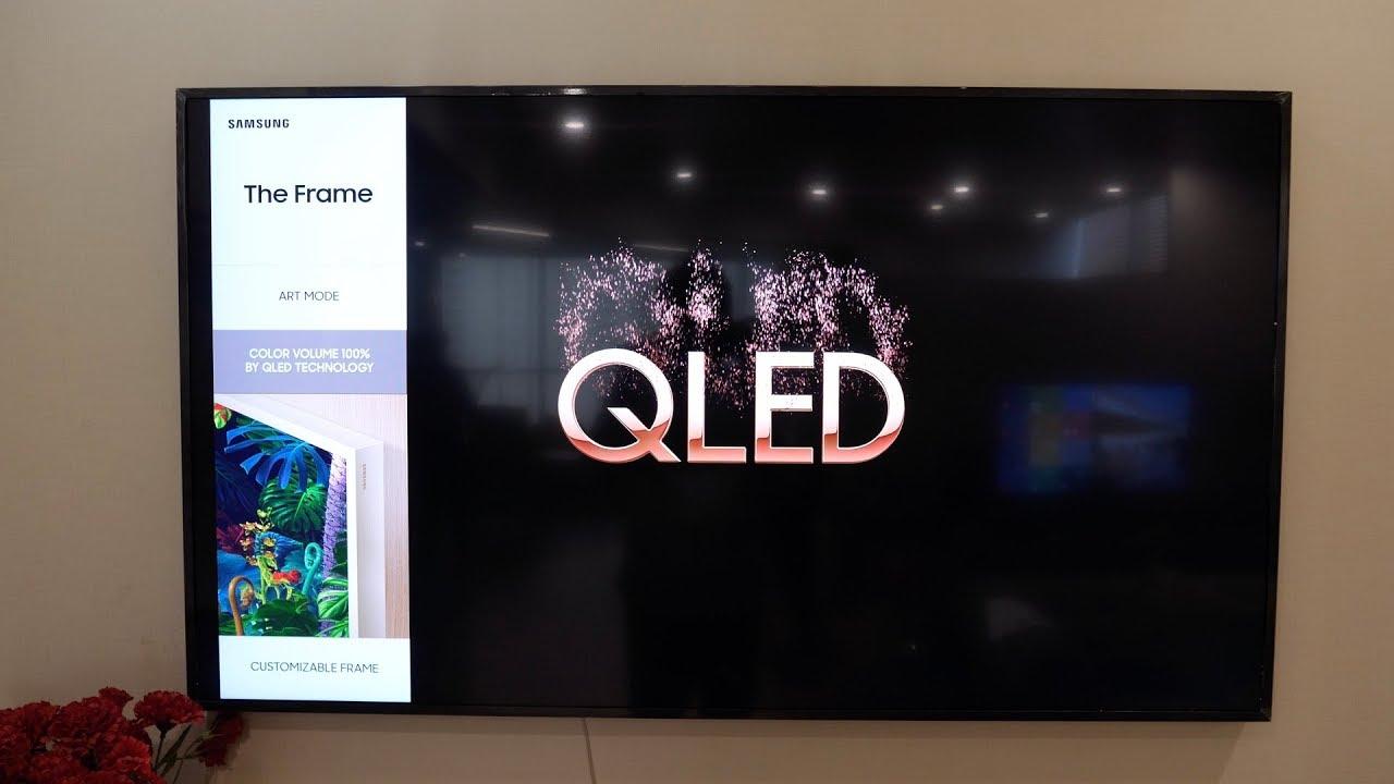 Samsung The Frame 55 4k Qled Tv Overview Youtube