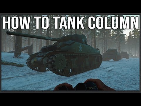Now THIS Is How You Run A Tank Column - Hell Let Loose (Ft. PhlyDaily And Spartan117)