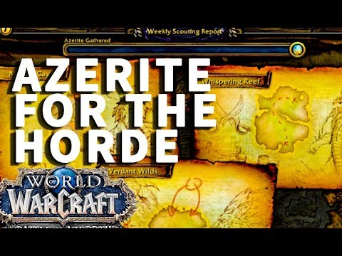 Azerite For the Horde WoW Quest