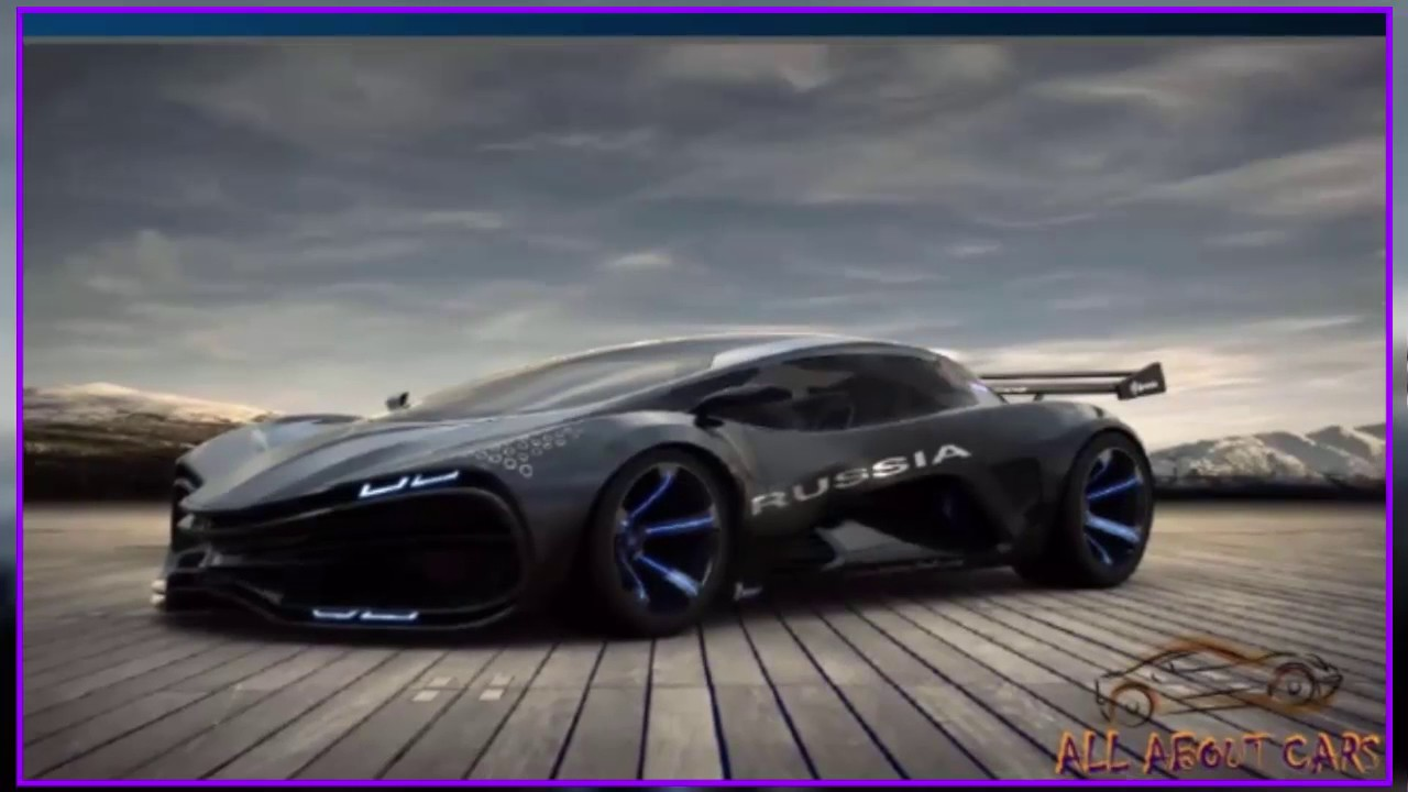 Lada Raven Concept 2017 Supercar Super Sport Car New Cars Usa