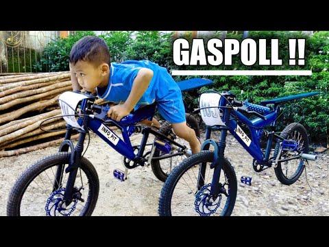 Modif Sepeda Drag Makin Keren Youtube