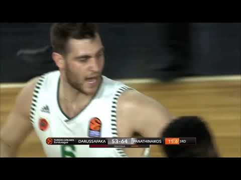 Georgios Papagiannis Highlights (Darussafaka-Panathinaikos: 67-91)