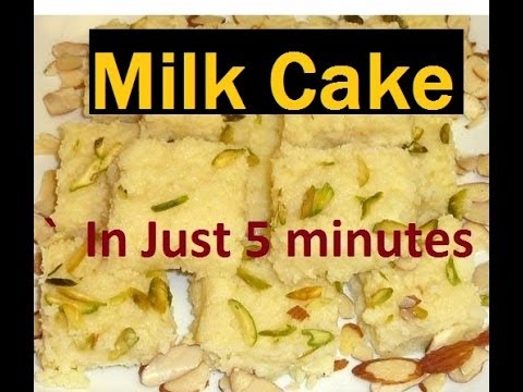 Indian Milk Cake Recipe Video