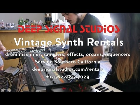 Rent Synthesizers in Los Angeles and Orange County - Deep Signal Studios