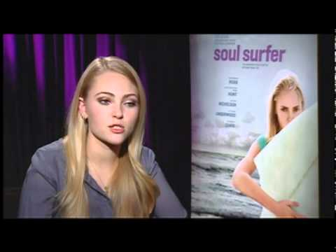 Soul Surfer - Interviews with AnnaSophia Robb and Dennis ...