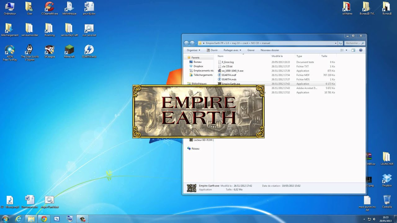 comment installer empire earth crack sur pc by anticheat204 youtube. Black Bedroom Furniture Sets. Home Design Ideas