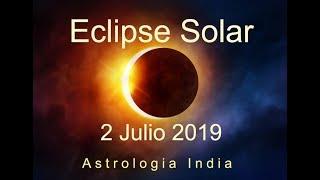 Eclipse Solar Total 2 Julio 2019, Sol y Luna Bajo Estrella Ardra, Creatividad y Frustracion