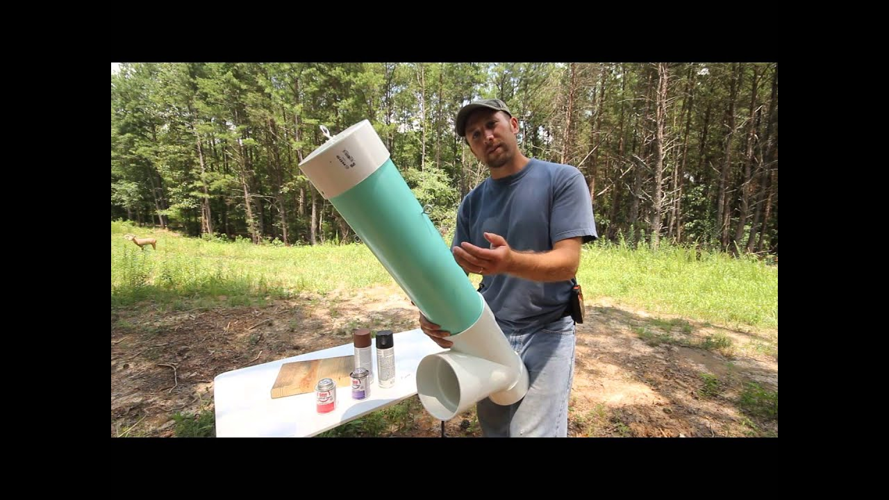 How To Make A Homemade Deer Feeder Youtube