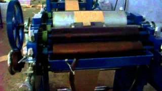 SKA INDUSTRIES - Working Paper cover making machine