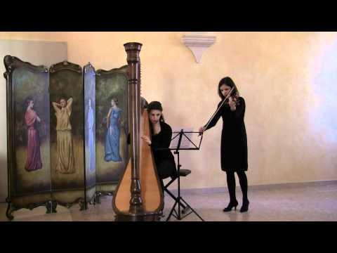 Arpa e Violino - Adagio di Albinoni