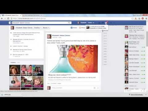 Avon Representative Online Store: How to customize your Facebook post