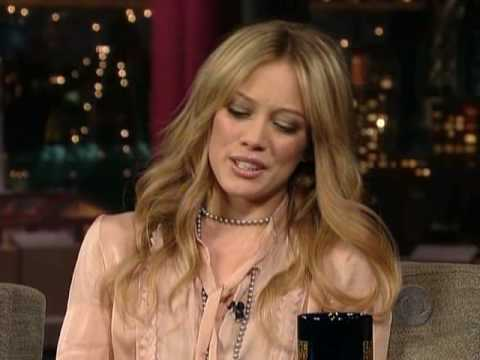 Hilary Duff on David Letterman 09.11.2005