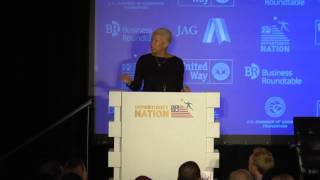 Angela Glover Blackwell, Founder and CEO, PolicyLink, at the 2015 National Opportunity Summit