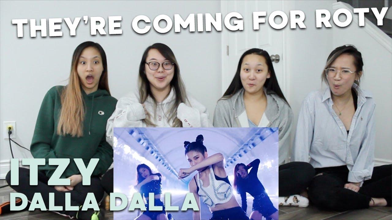 """MV REACTION   ITZY """"달라달라 (DALLA DALLA)"""" #1"""