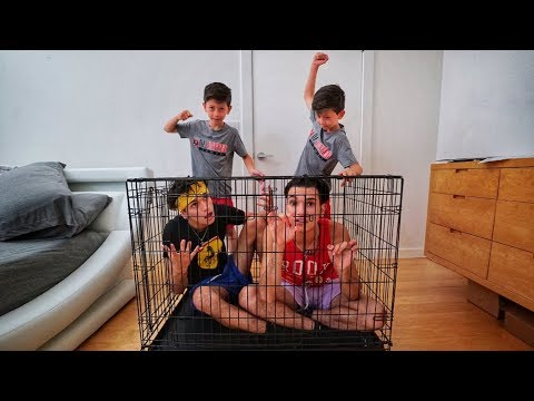 MINI LUCAS AND MARCUS PRANK US!