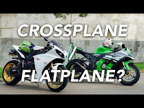 COMPARE SUARA 4 INLINE 1000CC! CROSSPLANE (YAMAHA R1 2013) - FLATPLANE (KAWASAKI NINJA ZX-10R 2015!)