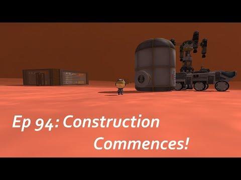 Construction Commences! - KSP/MKS - Multiplanetary Species Episode 94
