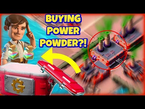 Buying Power Powder In The Update