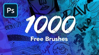 1000 Free Photoshop Brushes!