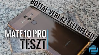 A legjobb idei csúcsmobil | Huawei Mate 10 Pro teszt