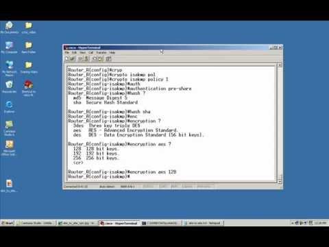 Cisco router IPSEC VPN configuration
