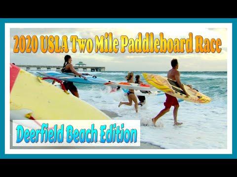 USLA Two Mile Paddleboard Race / Deerfield Beach Edition