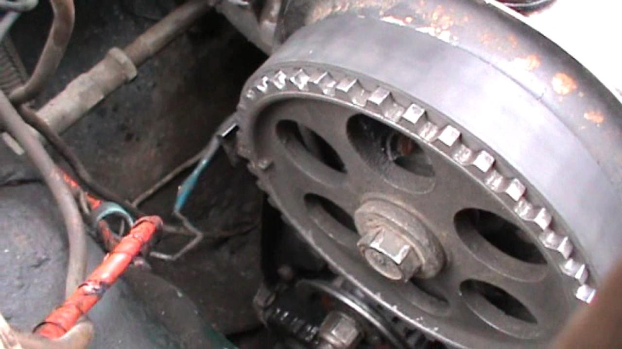 Как настроить разрезную шестерню в ГРМ инжектора ВАЗ