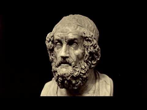 Une vie, une œuvre : Homère (VIIIe siècle av. J.-C.), L' Iliade, la divine colère d'Achille