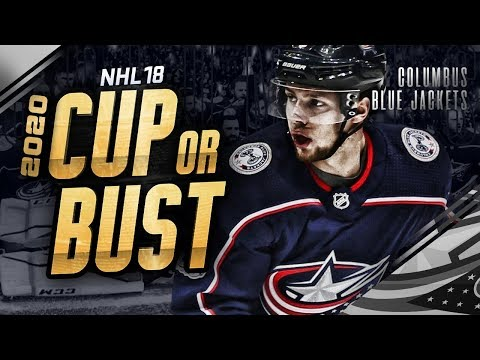 COLUMBUS BLUE JACKETS REBUILD! 2020 CUP OR BUST (NHL 18 Franchise Mode)