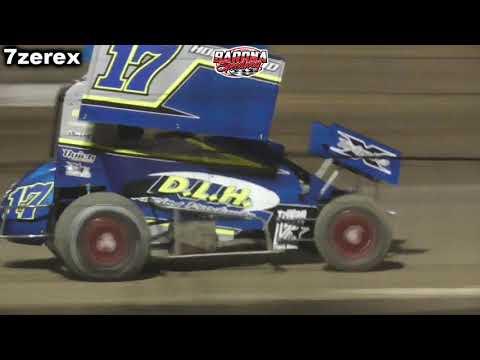 Mini Sprint Heat 4 Barona Speedway 11-15-2019