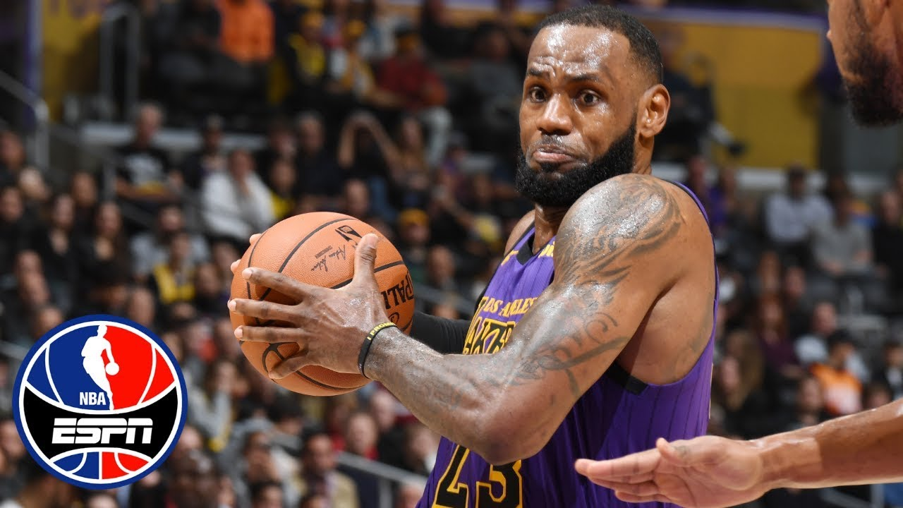 ae04eb4d39ce LeBron James powers Lakers to a 7-point victory vs. Jazz