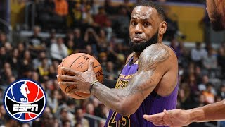 LeBron James powers Lakers to a 7-point victory vs. Jazz | NBA Highlights