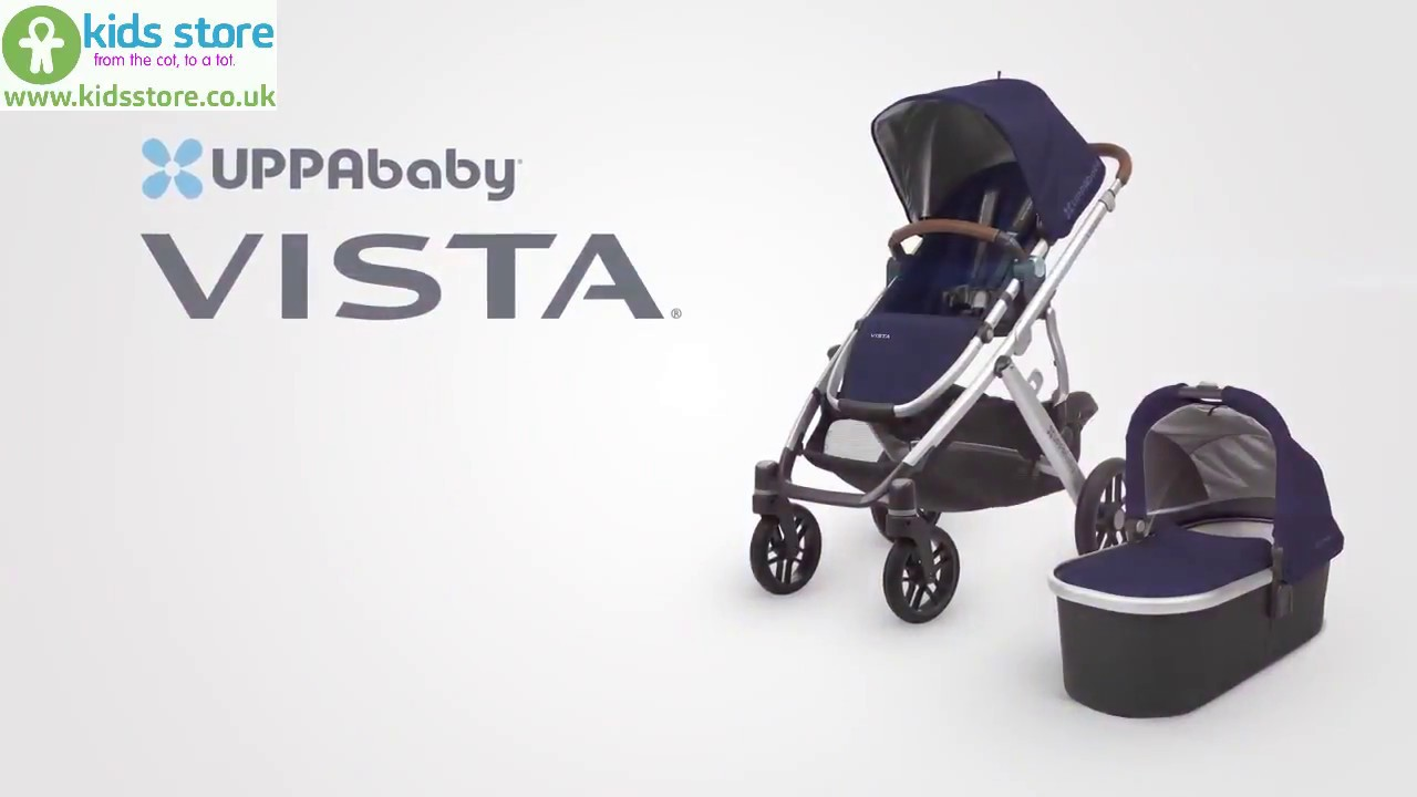 Uppababy Vista 2in1 Travel System Functionalities