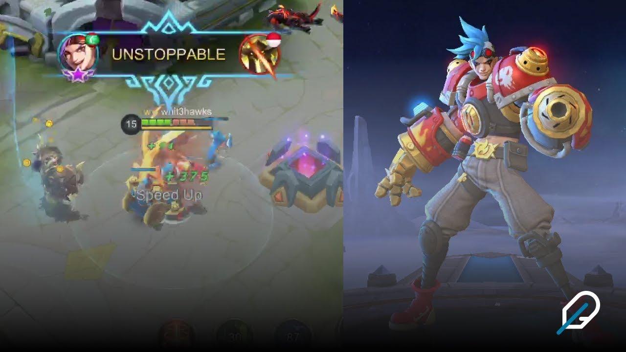 new hero x.borg gameplay | mobile legends bang bang | best