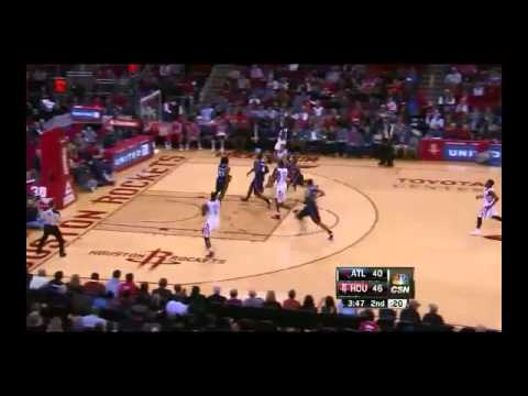 NBA CIRCLE - Atlanta Hawks Vs Houston Rockets Highlights 27 Nov. 2013 www.nbacircle.com