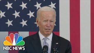 Biden Travels To Scranton To Pitch Agenda
