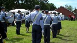 146 (Northwich) Squadron ATC - Band Parade in Lostock - June 2013