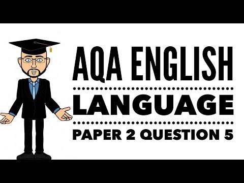 GCSE English Language: Writing An Article