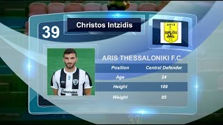 Christos Intzidis -  Aris Thessaloniki F.C. - Skills & Goals - 2017 -