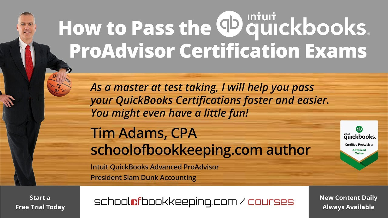 01 how to pass quickbooks proadvisor advanced certification exams 01 how to pass quickbooks proadvisor advanced certification exams introduction xflitez Images