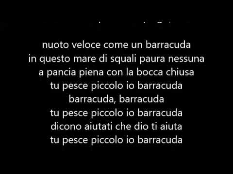 BoomDaBash - Barracuda (feat. Jake La Furia & Fabri Fibra) (Testo/Lyrics)