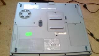 Мой старый ноутбук